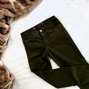 Joe's —The Skinny Mid Rise Jeans Olive GUC / 26